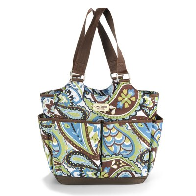 Timi and Leslie Felicity Tag-a-Long Tote Diaper Bag