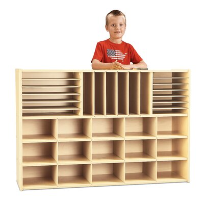 Young Time 33 Compartment Cubby
