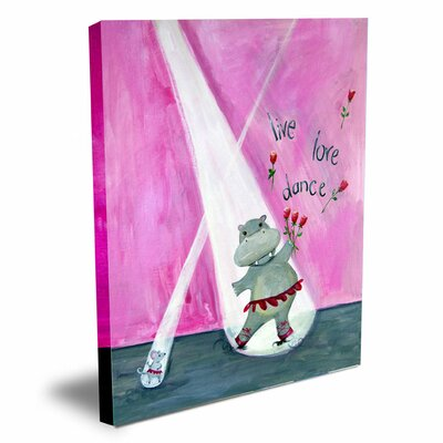 Words of Wisdom Live Love Dance Canvas Art