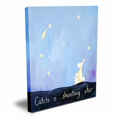 Words of Wisdom Catch a Shooting Star Canvas Art