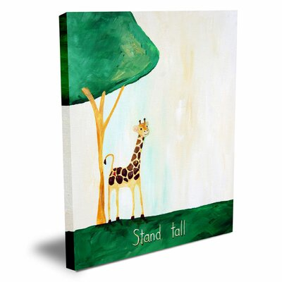Words of Wisdom Stand Tall Canvas Art