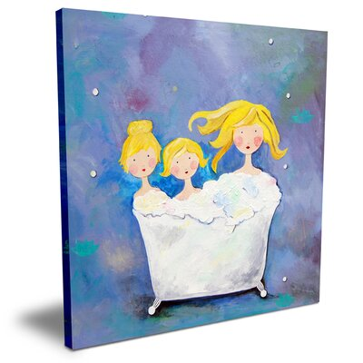 CiCi Art Factory Wit & Whimsy Three Sisters Canvas Art