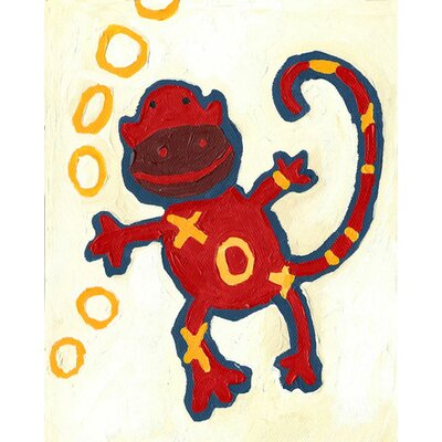 CiCi Art Factory Paper Prints X & O Monkey Canvas Print