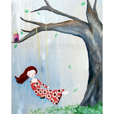 CiCi Art Factory Treehouse Paper Print
