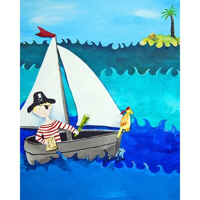 CiCi Art Factory Pirate Paper Print