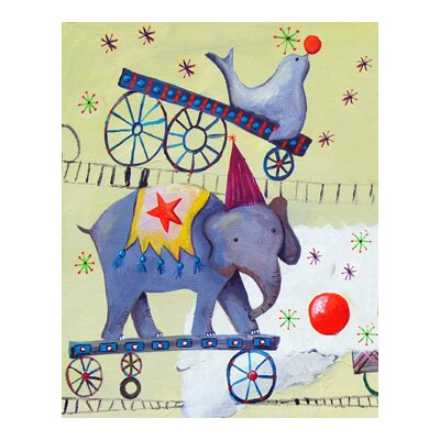 CiCi Art Factory Circus Train Elephant Paper Prints