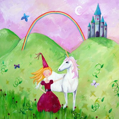 CiCi Art Factory Wit and Whimsy Princess 2 Canvas Print