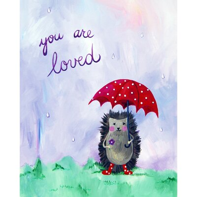 CiCi Art Factory Words of Wisdom You are Loved Print
