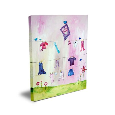 CiCi Art Factory Words of Wisdom Make Believe Canvas Art