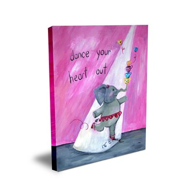 CiCi Art Factory Words of Wisdom Dance Your Heart Out Canvas Art