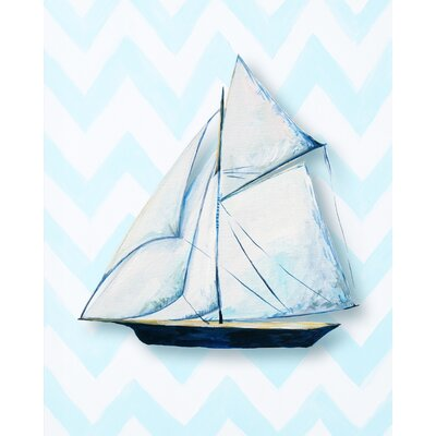CiCi Art Factory Nautical Ship Paper Print Art