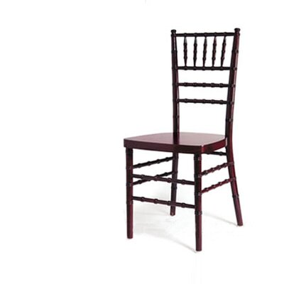 Advanced Seating Chiavari Chair in Mahogany with Optional Cushion