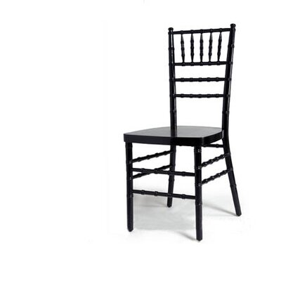 Advanced Seating Chiavari Chair in Black with Optional Cushion