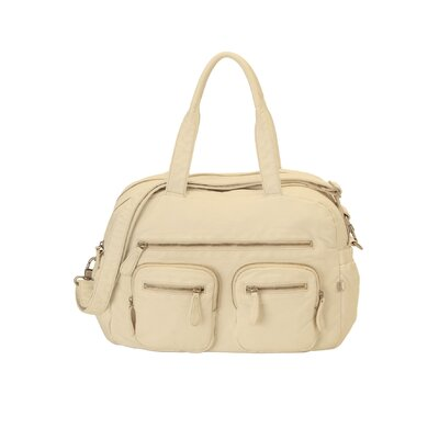 OiOi Almond Lizard Purse Diaper Bag