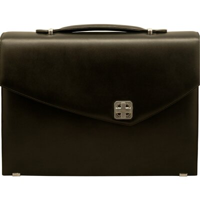 Sienna Leather Single Laptop Briefcase