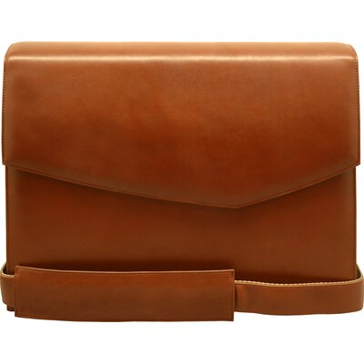 Sienna Leather Briefs Messenger Bag