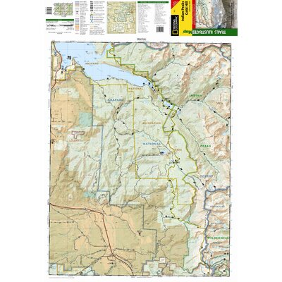 National Geographic Maps Trails Illustrated Map Indian Peaks / Gold Hill