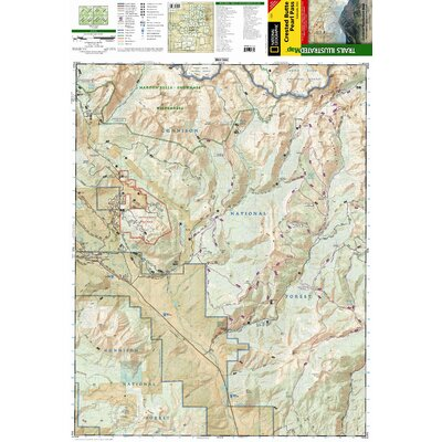National Geographic Maps Trails Illustrated Map Crested Butte / Pearl Pass