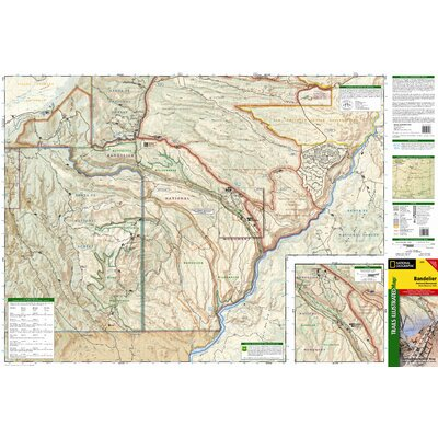 National Geographic Maps Trails Illustrated Map Bandelier National Monument
