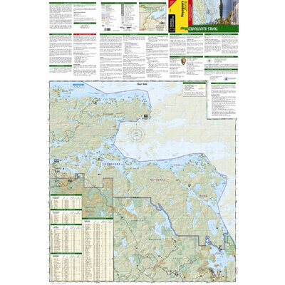 National Geographic Maps Trails Illustrated Map Voyageurs National Park