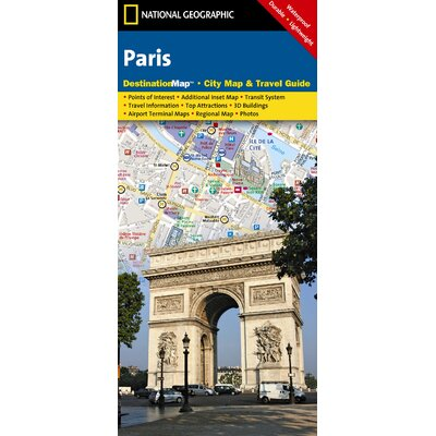 National Geographic Maps Paris Map