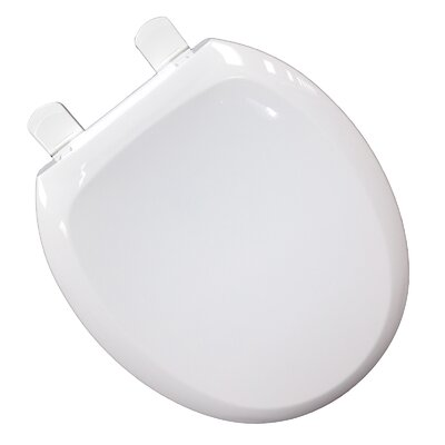 "Comfort Seats EZ Close 'N"" Clean Premium Plastic Round Toilet Seat"