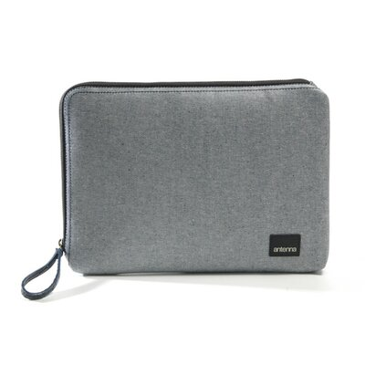 Antenna Classic Laptop Sleeve in Light Denim