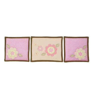 Sumersault Fiona Wall Hanging (Set Of 3)
