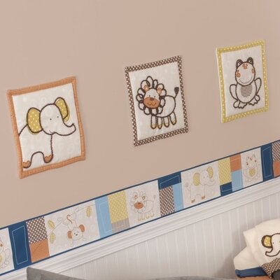 Sumersault Animal Patch Wall Hanging