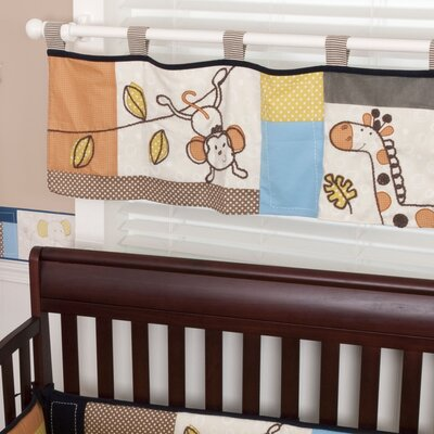 Sumersault Animal Patch Valance