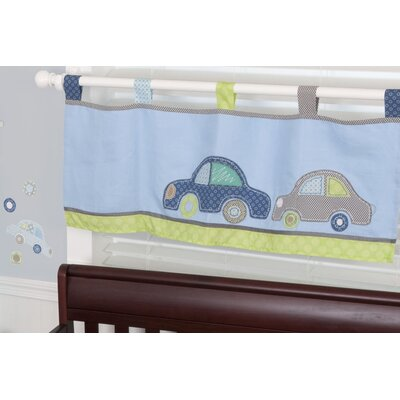 Sumersault Big Wheels Curtain Valance