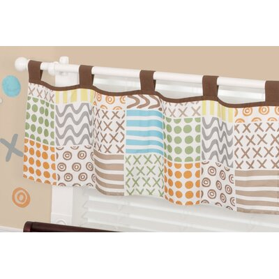 "Sumersault Doodles 44"" Curtain Valance"