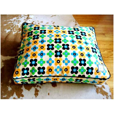 BowhausNYC Quattro Leaf Crate Dog Pillow