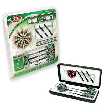 Dart World Sharp Shooter Steel Tip Dart (30 gm) (Set of 3)
