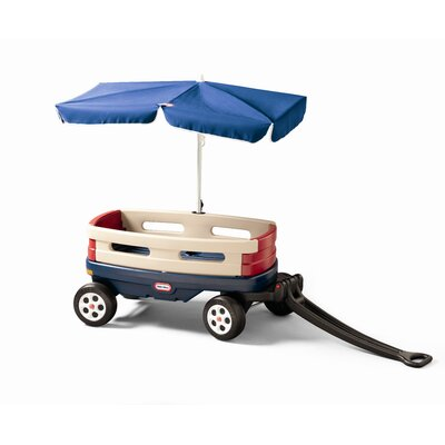 Little Tikes Explorer Wagon Ride-On with Umbrella