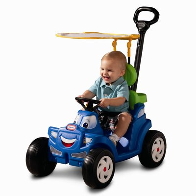 Little Tikes Deluxe 2-in-1 Cozy Roadster Push/Scoot Ride-On