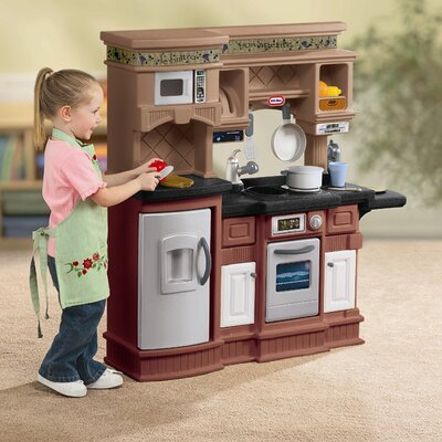 Little Tikes 18 Piece Gourmet Prep 'n Serve Kitchen Set