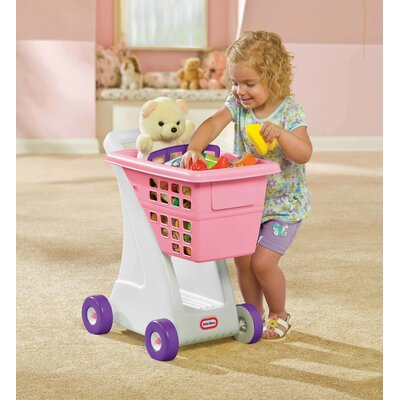 Little Tikes Role Play Shopping Cart in Pink