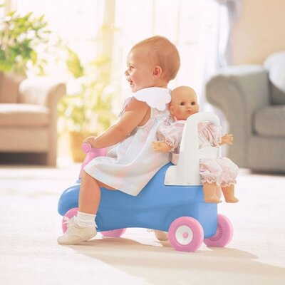 Little Tikes Push & Ride Walker and Racer with Doll Seat