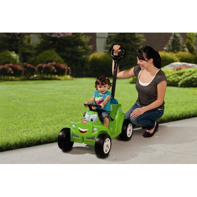 Little Tikes 2-in-1 Cozy Roadster Push/Scoot Ride-On
