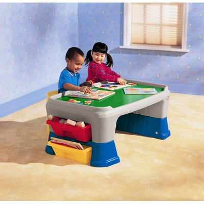 Little Tikes Easy Adjust Play Table Reviews Wayfair