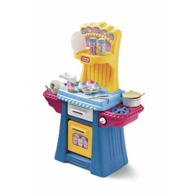 Play kitchen sets wayfair for Kitchen set little tikes