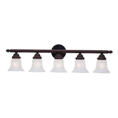 Livex Lighting 5 Light Vanity Light