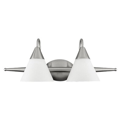 Livex Lighting Sterling  Vanity Light in Brushed Nickel