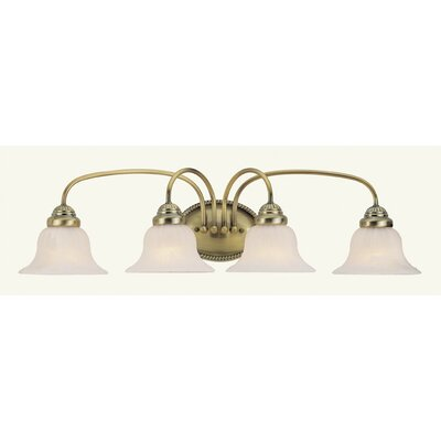 Livex Lighting Edgemont 4 Light Vanity Light