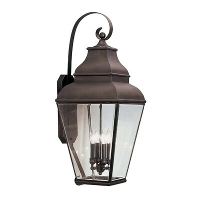 Livex Lighting Exeter 4 Light Outdoor Wall Lantern