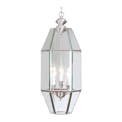 Livex Lighting Home Basics 6 Light Foyer Pendant