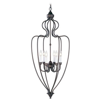 Livex Lighting 6 Light Foyer Pendant