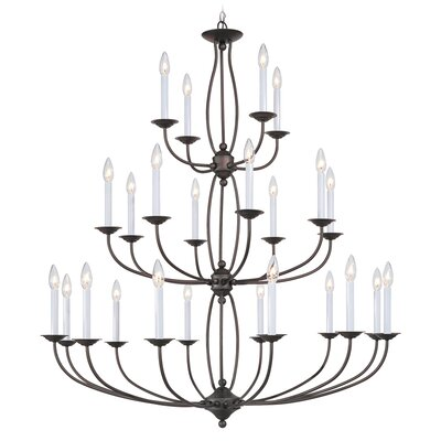 Livex Lighting 20 4 Light Chandelier