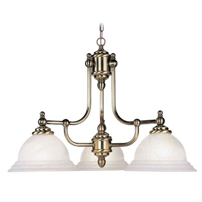 Livex Lighting North Port 3 Light Chandelier